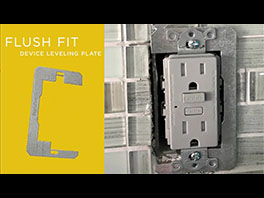Hubbell Flush-Fit Leveling Plate