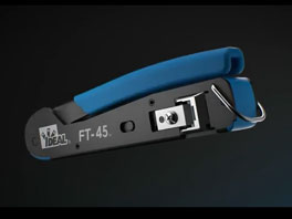 IDEAL FT-45™ Feed-Thru Modular Plug Crimp Tool