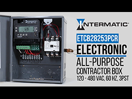 Introducing the New Electronic All-Purpose Contractor Box by Intermatic