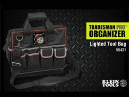 Klein Tools, Inc.: Tradesman Pro Lighted Tool Bag