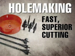 Klein Tools Holemaking Overview