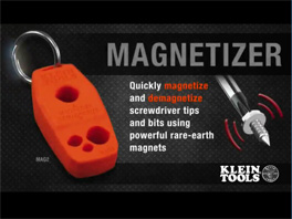 Klein® Magnetizer / De-magnetizer
