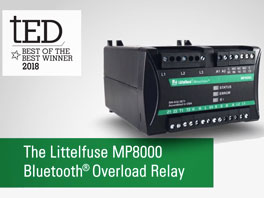Littelfuse MP8000 Bluetooth Overload Relay