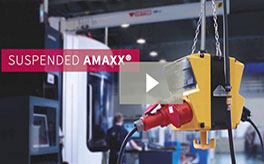 AMAXX Suspended Power Distribution from MENNEKES®