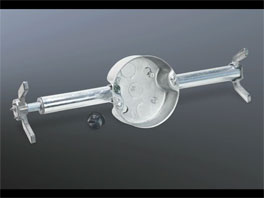 RACO Retro-Brace® Ceiling Brace & Box Kit