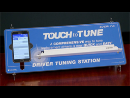Universal Lighting Technologies Touch to Tune LED Driver Tuning