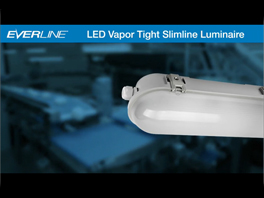 Light Bites- EVERLINE LED Vapor Tight Slimline Luminaire