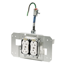 """<i>Save up to 60% installation time with new fully engineered system</i><br><br><b>NEW BEDFORD, MA</b>  – ACS/Uni-Fab™, part of Atkore International, a leading manufacturer of  electrical products, has expanded their line of custom electrical  raceway solutions to include five different """"job-in-a-box"""" <a href=""""http://www.acsunifab.com/prefabricated-device-assemblies/"""">Pre-Fabricated Device Assembly Solutions</a>."""