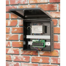 Arlington's non-metallic <b>enclosure boxes</b> meet NEMA 3R 