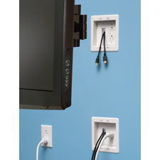 Arlington's UL Listed TV Bridge™ III kits offer the easy way to 