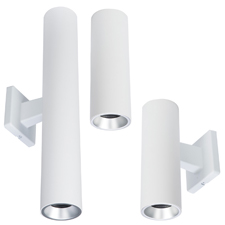 <b>October 26, 2017</b>… Power management company Eaton today announced  the introduction of the Portfolio 2-inch aperture LED Cylinders  available in round and square configurations for ceiling-, wall- or  pendant-mount applications.
