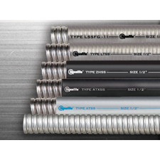 """Electri-Flex Company announces the launch of a new line of Stainless  Steel Flexible Conduits. """"The use of stainless steel for the core of a  liquidtight flexible conduit provides exceptional resistance to  corrosive atmospheres such as chemical processing, water treatment  plants and other specialty applications where standard plated steel may  not be adequate,"""" states Dan Coolidge, Application Engineer at  Electri-Flex. """"The inner stainless steel core provides not only  corrosion-resistance, but also offers additional high mechanical  strength,"""" advised Coolidge."""