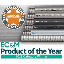 Electri-Flex Company recently launched an award-winning line of 