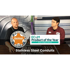 """Electri-Flex Company has recently launched a new video series that will  feature their various lines of specialty flexible conduits. <br><br>Episode  1 is the first in its series that has been released featuring the  Jacketed Stainless Steel line of flexible electrical conduits. """"Videos  are the future and our distributor partners find value in sharing these  product videos with their customers."""
