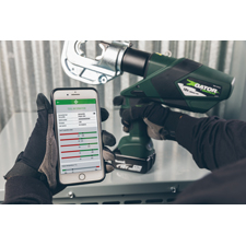 <i>New app brings added value to battery-powered hydraulic tools</i><br> <br><b>ROCKFORD, IL. (October 24, 2018)</b> – Emerson (NYSE: EMR) today announced the launch of the Greenlee i-press battery tool monitoring smartphone app.
