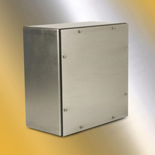 <b>South Bend, Indiana</b> June 28, 2018 -Wiegmann offers the WA series  of NEMA 4X rated electrical enclosures with screw covers. These  stainless steel enclosures offer protection for electrical components in  a variety of harsh environments. Wiegmann, part of Hubbell Commercial  Construction, provides innovative electrical products to OEM, industrial  and commercial markets.