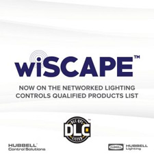 "Hubbell Control Solutions announced <a href=""https://www.hubbell.com/hubbellcontrolsolutions/en/Products/Lighting-Controls/Lighting-Controls-Sensors/wiSCAPE-Lighting-Controls/wiSCAPE-Wireless-Outdoor-Lighting-Control-System/p/2135914"">wiSCAPE®</a> has been added to the <a href=""https://www.designlights.org/"">DesignLights Consortium®</a> (""DLC"") <a href=""https://www.designlights.org/lighting-controls/download-the-qpl/"">Qualified Products List</a> (""QPL""), in the category of Networked Lighting Control (""NLC"") systems."
