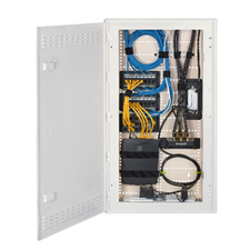 Hubbell Premise Wiring's new Non-Metallic netSELECT™ Residential 