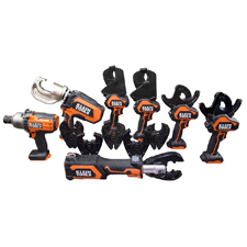 """<b>Feb. 19, 2018 (Lincolnshire, Ill.)</b> – Klein Tools (<a href=""""http://www.kleintools.com/"""">www.kleintools.com</a>), for professionals since 1857, brings over 160 years of quality, durability and expertise to a new line of <a href=""""https://www.kleintools.com/catalog/battery-operated-tools/gear-driven-cable-cutters"""">battery-operated tools</a>,  including a variety of cable cutters, crimpers and an impact wrench.  Engineered to help linemen work more efficiently, these tools have the  performance and durability professionals expect from Klein – powered by  DeWALT® lithium-ion batteries."""