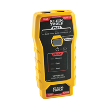 "<b>July 11, 2019 (Lincolnshire, Ill.)</b> – Klein Tools (<a href=""http://www.kleintools.com/"">www.kleintools.com</a>), for professionals since 1857, introduces the new LAN Explorer™ Data Cable Tester (<a href=""https://www.kleintools.com/catalog/cable-testers-accessories/lan-explorer-data-cable-tester-remote"">Cat. No. VDV526-100</a>) and Compact Pass-Thru™ Modular Crimper (<a href=""https://www.kleintools.com/catalog/cable-tools/compact-pass-thru-modular-crimper"">Cat. No. VDV226-005</a>). The VDV526-100 tests voice and data cables for miswires, open faults, short faults and shield status."