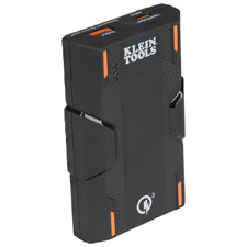 <b>August 13, 2019 (Lincolnshire, Ill.)</b> – Klein Tools  (www.kleintools.com), for professionals since 1857, introduces two new  Portable Rechargeable Batteries to deliver the power needed to keep  mobile devices and jobsite tech up and running.