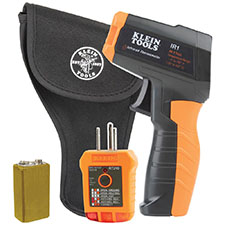 Klein Tools® Launches New Kit for Affordable Temperature and Outlet Testing