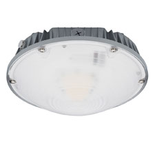 (Bedford Park, IL – July 9th, 2018) -- Litetronics is proud to  introduce its family of high-performing, durable, and programmable round  LED Garage Light fixtures for use in parking garages, walkways,  entryways, gas stations, and other public settings. Rated for 50,000  hours of life and delivering over 130 lumens per watt of clean and  energy-efficient illumination, Litetronics' LED Garage Lights bring the  benefits of efficiency, enhanced visual acuity, safety, and control to a  wide variety of applications.