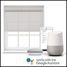 "<i>Lutron is the first company to natively control individual shades using the Google Assistant.</i><br><br><a href=""http://www.lutron.com/""><b>Lutron Electronics</b></a>,
