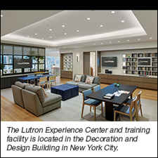 """<i>Nearly 5,000 square-foot center showcases a full range of Lutron and Ketra products<br></i><br><a href=""""http://www.lutron.com/en-US/Pages/default.aspx"""">Lutron Electronics</a>,  the leader in automated lighting and shading control, is reinforcing  its commitment to dealers, contractors, and specifiers with its newly  reimagined Experience Center and training facility in the Decoration and  Design Building in New York City. Nearly three times the size of  Lutron's former New York City space, the new Center will be the  destination for Lutron's residential tri-state area customers and  international visitors."""