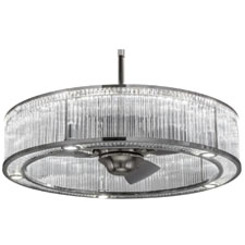 Fan Integrated Lighting fixture unveiled by Meyda Custom Lighting