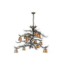 Meyda Lighting Introduces Pine Branch Valley View Chandelier