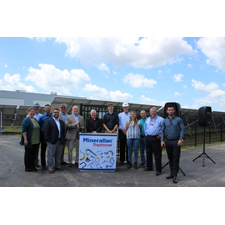 <i>New solar array powers entire facility </i><br><br><b>HAMPSHIRE, IL (August 7, 2019)</b>