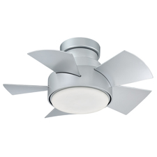 Port Washington, NY —The new Vox Smart Fan by Modern Forms speaks in  hushed tones. The powerful DC motor keeps the blades running smooth,  ultra quiet and 70% more efficient than traditional AC styles. Perfect  for smaller rooms, or mounted in multiples in larger spaces, Vox  delivers the goods with a host of smart control features through our  exclusive Modern Forms app.<br>