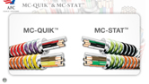 MC-QUIK™ & MC-STAT™ Type MC Cables